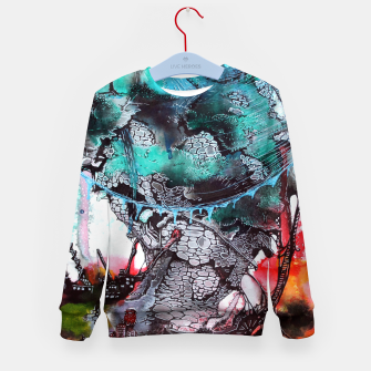 Thumbnail image of Another Worlds Kid's Sweater, Live Heroes