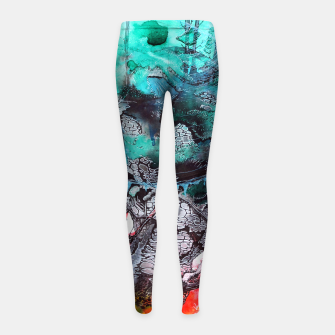 Thumbnail image of Another Worlds Girl's Leggings, Live Heroes