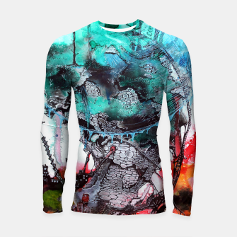 Thumbnail image of Another Worlds Longsleeve Rashguard , Live Heroes