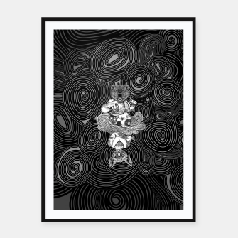 Miniature de image de Grizzly and Sphynx Framed poster, Live Heroes
