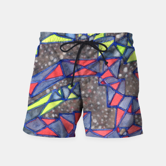 Thumbnail image of Connected Shapes by X-Structures  Swim Shorts, Live Heroes