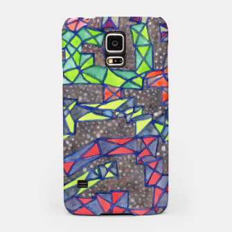 Thumbnail image of Connected Shapes by X-Structures  Samsung Case, Live Heroes
