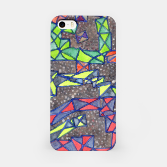 Thumbnail image of Connected Shapes by X-Structures  iPhone Case, Live Heroes