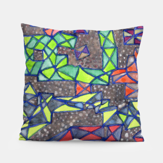 Thumbnail image of Connected Shapes by X-Structures  Pillow, Live Heroes