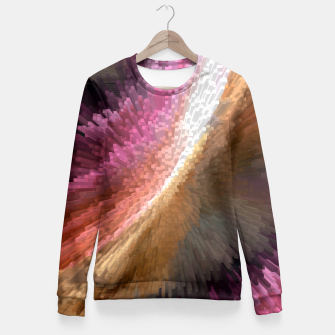 Thumbnail image of Ribbon Blast Fitted Waist Sweater, Live Heroes