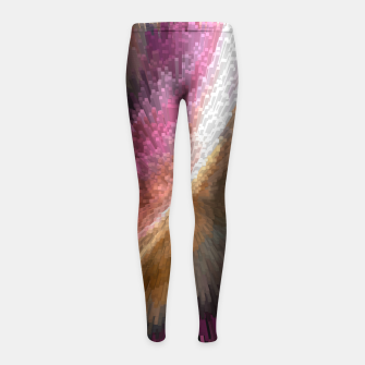 Thumbnail image of Ribbon Blast Girl's Leggings, Live Heroes