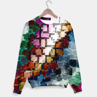 Thumbnail image of Cube Centric Sweater, Live Heroes