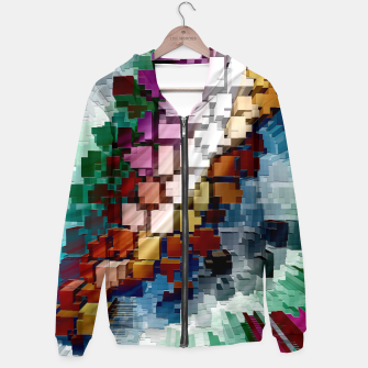 Thumbnail image of Cube Centric Hoodie, Live Heroes
