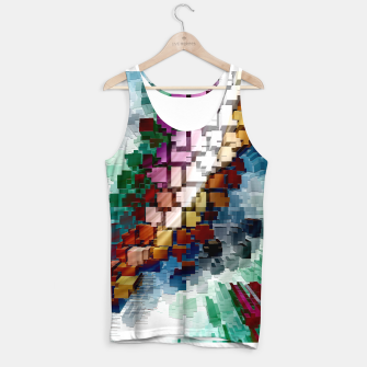Thumbnail image of Cube Centric Tank Top, Live Heroes