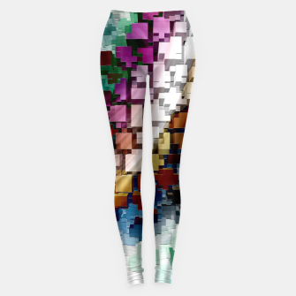 Thumbnail image of Cube Centric Leggings, Live Heroes