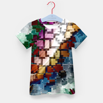 Thumbnail image of Cube Centric Kid's T-shirt, Live Heroes