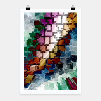 Thumbnail image of Cube Centric Poster, Live Heroes