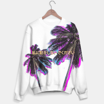 Thumbnail image of Don't Talk To Me Sweater, Live Heroes
