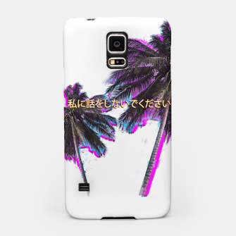 Thumbnail image of Don't Talk To Me Samsung Case, Live Heroes