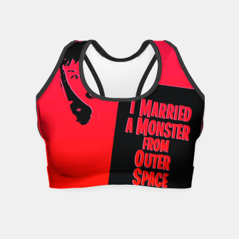 Thumbnail image of Outer Space Crop Top, Live Heroes