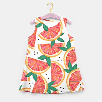 Miniatur Citrus Surprise Girl's Summer Dress, Live Heroes