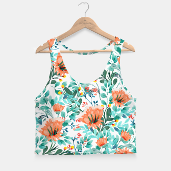 Miniaturka Tangerine Dreams Crop Top, Live Heroes