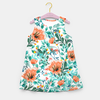Thumbnail image of Tangerine Dreams Girl's Summer Dress, Live Heroes