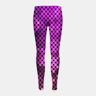 Thumbnail image of soonmi mermaid Girl's Leggings, Live Heroes