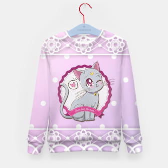 Thumbnail image of Diana Crystal Version Kid's Sweater, Live Heroes