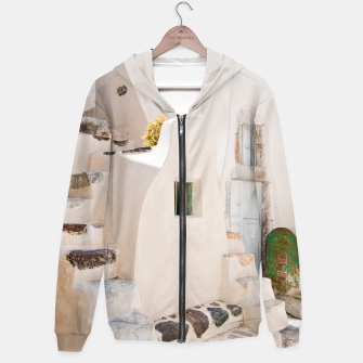 Thumbnail image of Home in Santorini Hoodie, Live Heroes