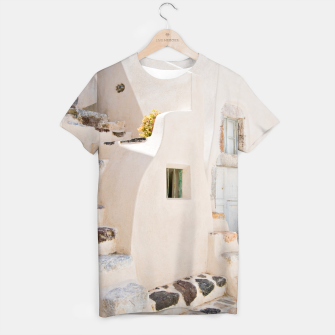 Thumbnail image of Home in Santorini T-shirt, Live Heroes