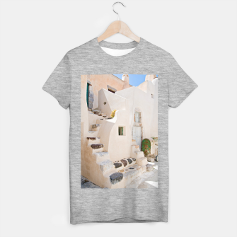 Thumbnail image of Home in Santorini T-shirt regular, Live Heroes