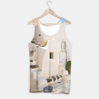 Thumbnail image of Home in Santorini Tank Top, Live Heroes