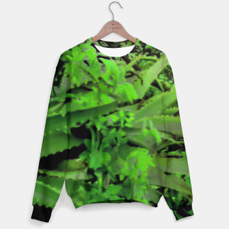 Thumbnail image of Vivid Tropical Design Sweater, Live Heroes