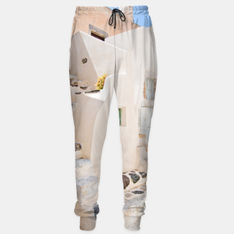 Thumbnail image of Home in Santorini Sweatpants, Live Heroes