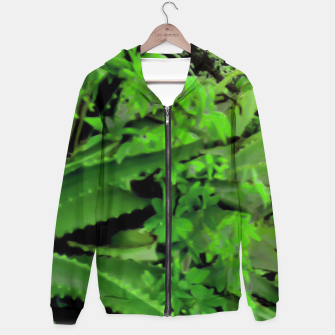 Thumbnail image of Vivid Tropical Design Hoodie, Live Heroes