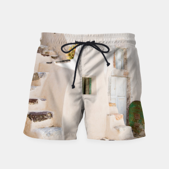 Thumbnail image of Home in Santorini Swim Shorts, Live Heroes