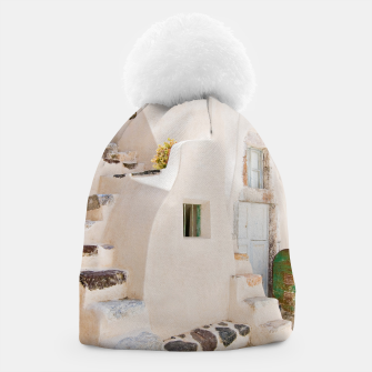 Thumbnail image of Home in Santorini Beanie, Live Heroes