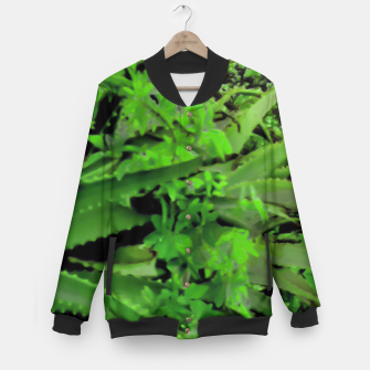 Thumbnail image of Vivid Tropical Design Baseball Jacket, Live Heroes