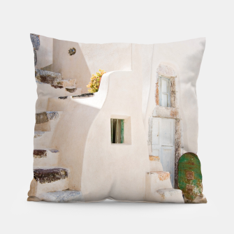 Thumbnail image of Home in Santorini Pillow, Live Heroes