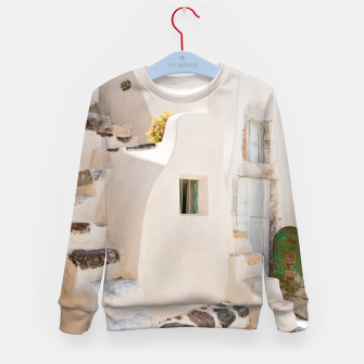 Thumbnail image of Home in Santorini Kid's Sweater, Live Heroes