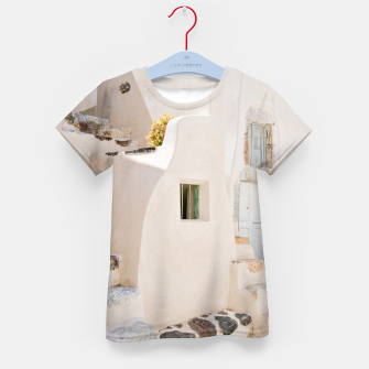 Thumbnail image of Home in Santorini Kid's T-shirt, Live Heroes