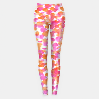 Miniaturka Animal print #abstract #buyart Leggings, Live Heroes