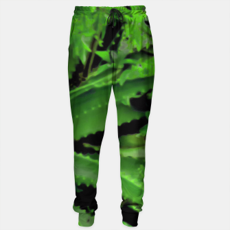 Thumbnail image of Vivid Tropical Design Sweatpants, Live Heroes