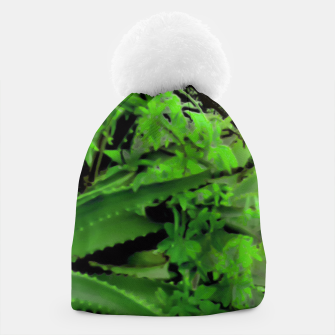 Thumbnail image of Vivid Tropical Design Beanie, Live Heroes