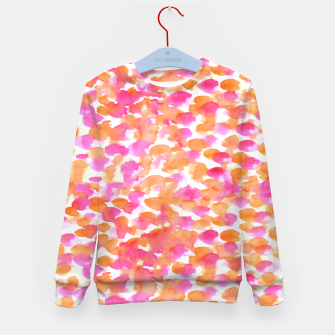 Miniaturka Animal print #abstract #buyart Kid's Sweater, Live Heroes