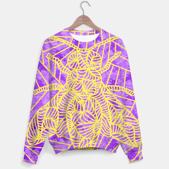 Thumbnail image of be purple! Sweater, Live Heroes