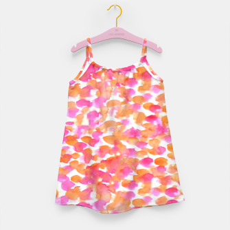 Miniaturka Animal print #abstract #buyart Girl's Dress, Live Heroes