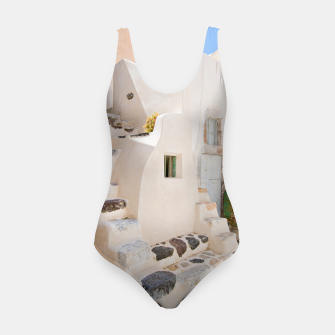 Thumbnail image of Home in Santorini Swimsuit, Live Heroes