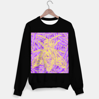 Thumbnail image of be purple! Sweater regular, Live Heroes