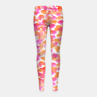 Miniaturka Animal print #abstract #buyart Girl's Leggings, Live Heroes