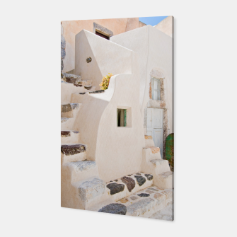 Thumbnail image of Home in Santorini Canvas, Live Heroes