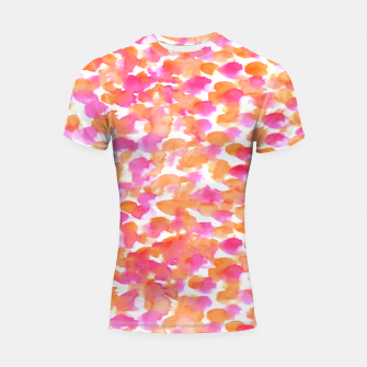 Miniaturka Animal print #abstract #buyart Shortsleeve Rashguard, Live Heroes