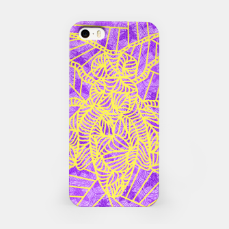 Thumbnail image of be purple! iPhone Case, Live Heroes
