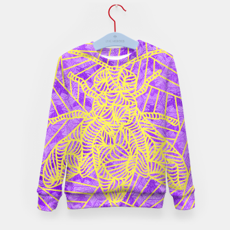 Thumbnail image of be purple! Kid's Sweater, Live Heroes